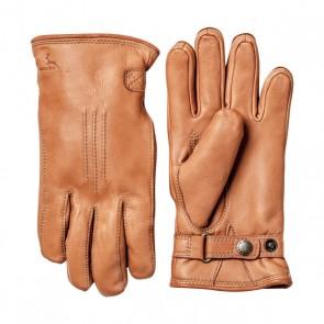 Hestra Gloves Deerskin Lambfur - Cork