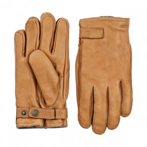 Hestra Gloves Deerskin Wool Terry - Cork