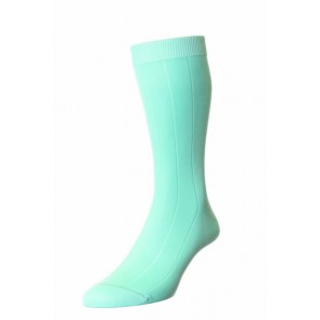 Pantherella Socks  - Light Turquoise