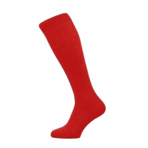 Pantherella Socks OTC - Rib Indies Red