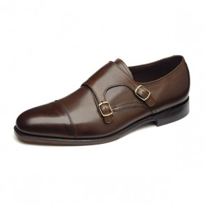 Loake Cannon - Dark brown UK 10 - Stock Clearance
