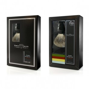 Edwin Jagger Gift Set with Shaving Brush - Ebony