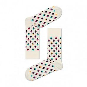 Happy Socks - Mini Diamond White