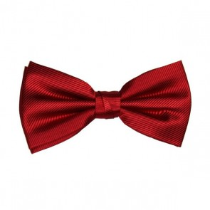 Pre-Tied Bow Tie - Red