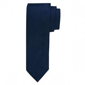 Woven Silk Tie - Navy