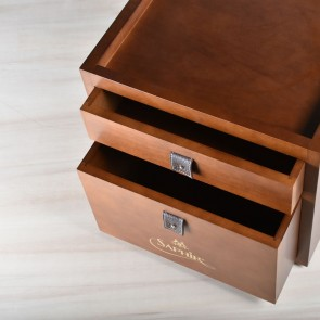 Saphir Medaille d'Or Drawer Valet - Maroon