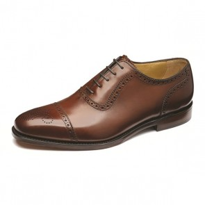 Loake Strand - Mahogany UK 9.5 - Stock Clearance
