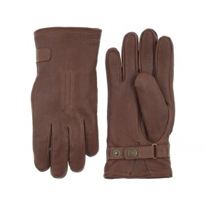 Hestra Gloves Deerskin Lambskin - Chocolate