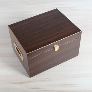 Shoe Care Valet Walnut