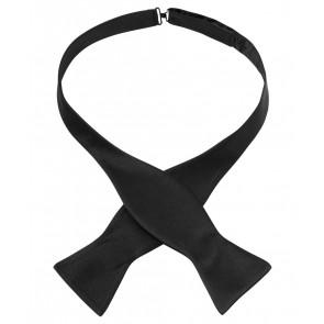 Silk Bow Tie - Black